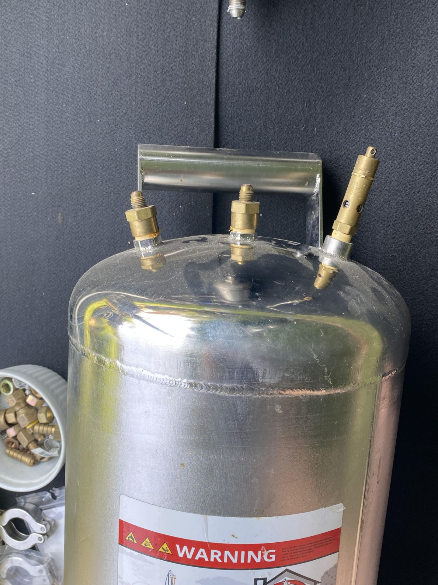 """Used BHOgart Closed Loop BHO Extractor w/ 30 LB Butane/ Propane Tank & 10""""x12"""" Collection Pot - Image 2 of 4"""