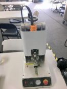 Used-Lot of (2) Pnuematic Screw Capping Machines Adjustable Cartridge Size/Torque. 3K Cartridges/run