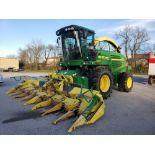 Used-John Deere 7450 Tractor. Model 7450. 1881 hrs. 688 Chopper Head