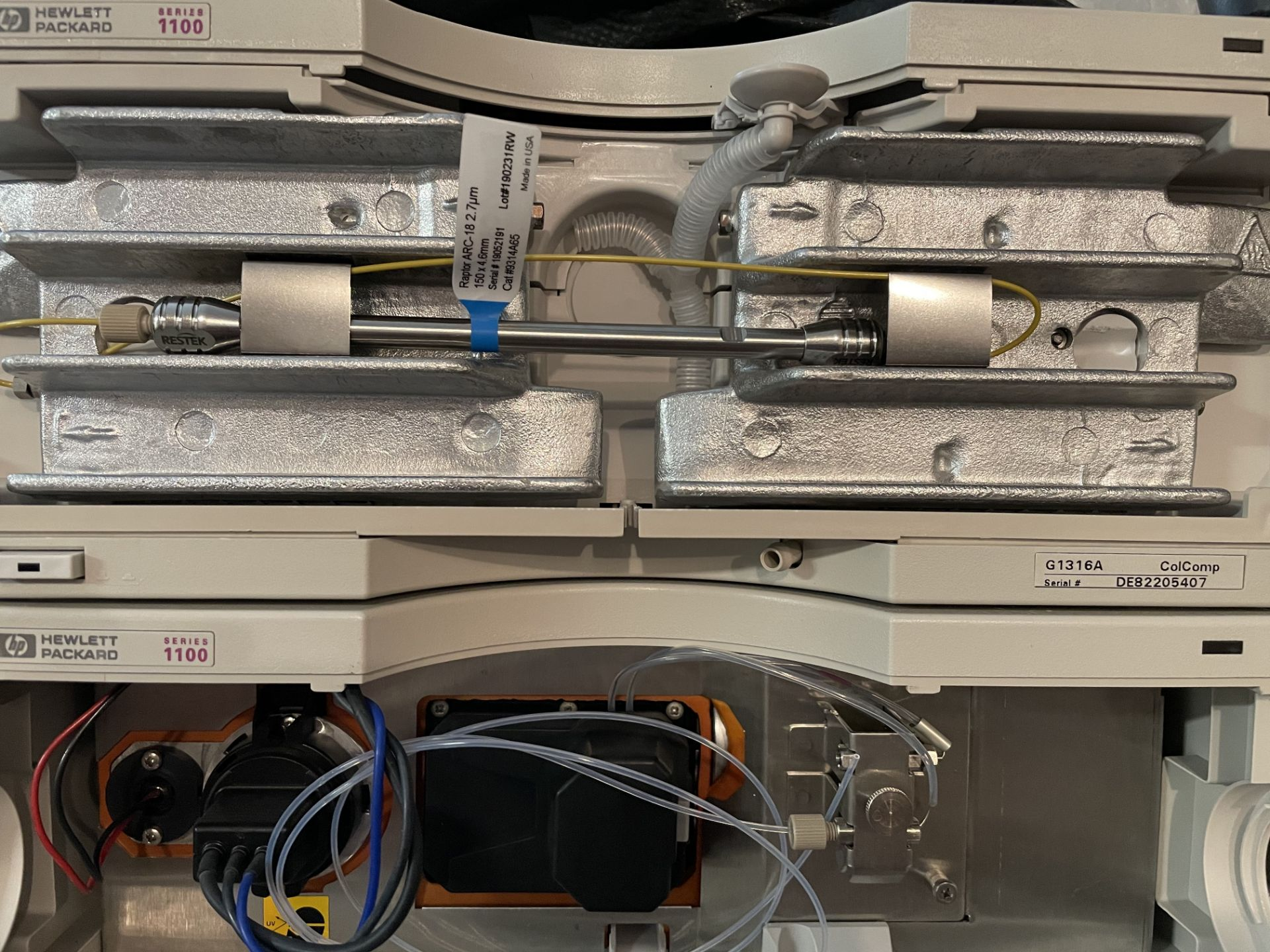 Used Agilent 1100 HPLC. Model 1100. Fully complete & functional cannabinoid potency testing system. - Image 7 of 22