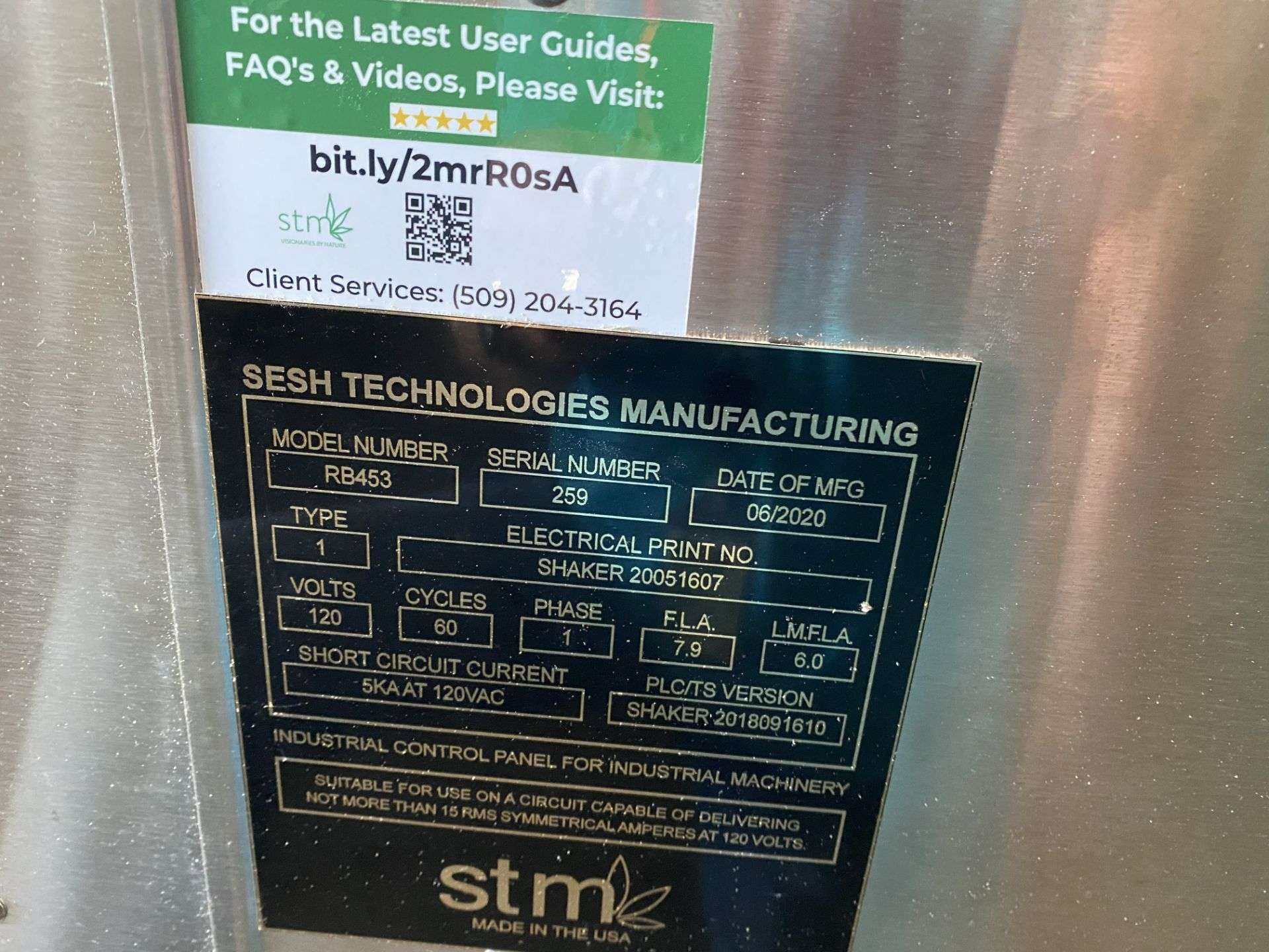 Used- STM Rocketbox 2.0 for Automated Crafting of Pre-Rolls, Model RB453. - Image 3 of 3