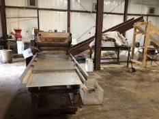 Used Granville Hemp Flower Extractor & Shaker Table w/ Vacuum System made For Conveyor Style Loading