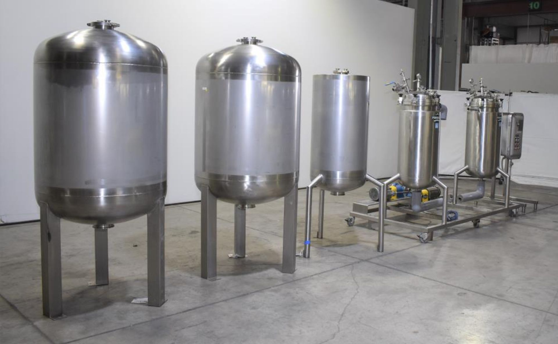 *** NO RESERVE***Used- Pinnacle Stainless Alcohol Extraction Skid. Model AES252. - Image 2 of 29