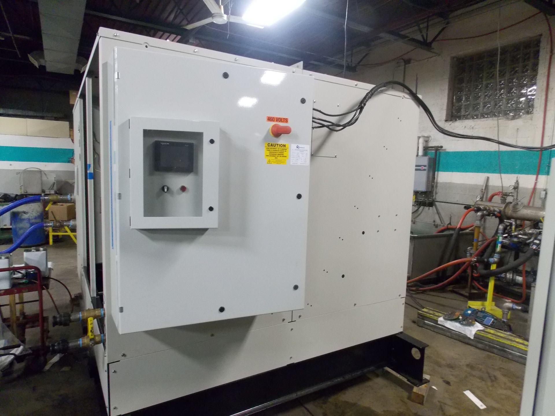 Unused-Fluid Chillers Inc -40 C Water-Cooled Fluid Chiller. Model WAT50,000-DC-ULT-RS. Cap: 42.4 kW - Image 2 of 7