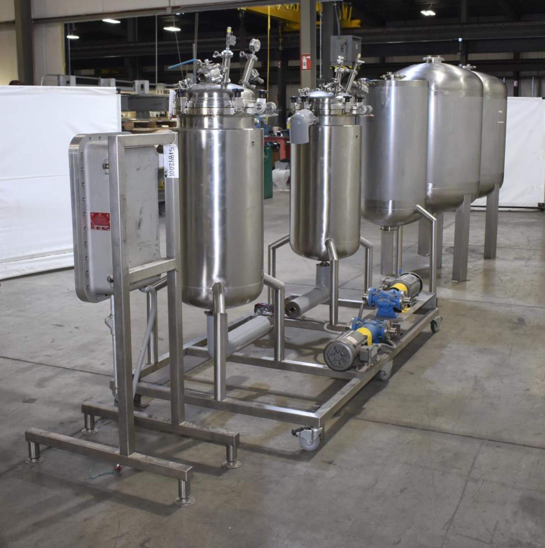 *** NO RESERVE***Used- Pinnacle Stainless Alcohol Extraction Skid. Model AES252. - Image 4 of 29