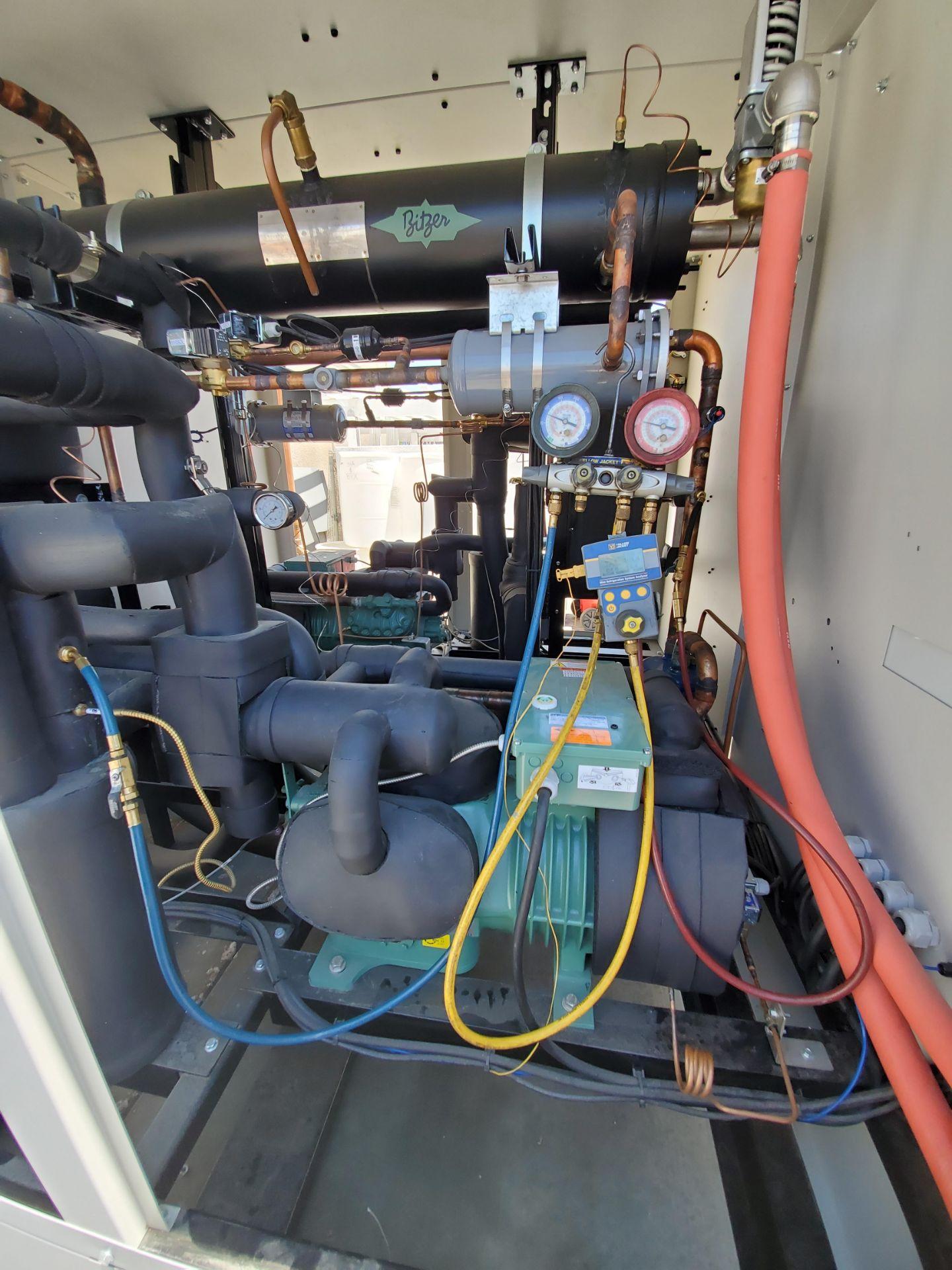Unused-Fluid Chillers Inc -40 C Water-Cooled Fluid Chiller. Model WAT50,000-DC-ULT-RS. Cap: 42.4 kW - Image 6 of 7
