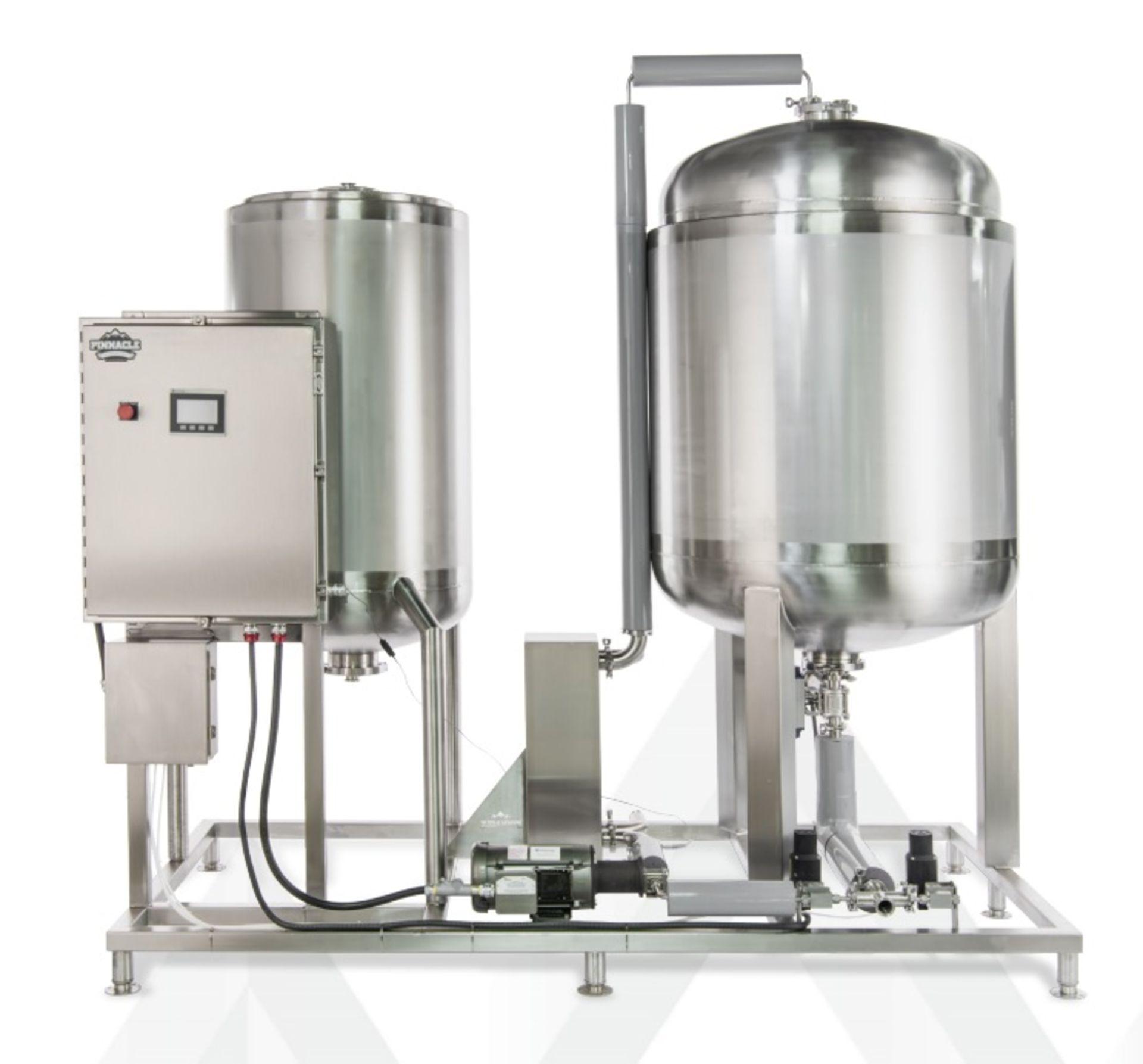 Unused- Pinnacle 40 Degrees C Ethanol System w/ ICS Skid, G&D Model 14-2LC, Huber CC-902