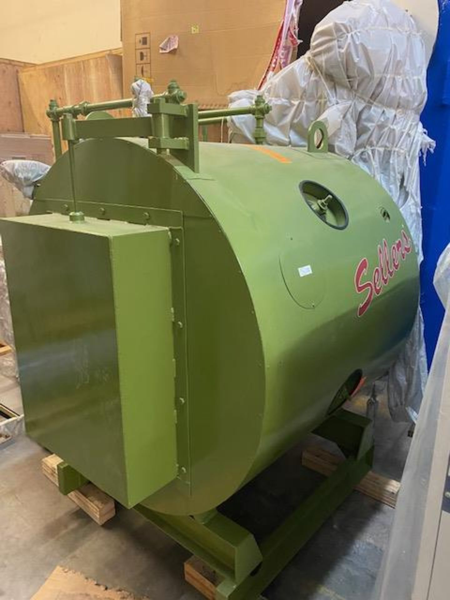 Unused/ STILL-In-Crate- Sellers 20 HP Rapid Response Gas-Fired Boiler. Model TP-20-S. - Image 3 of 8