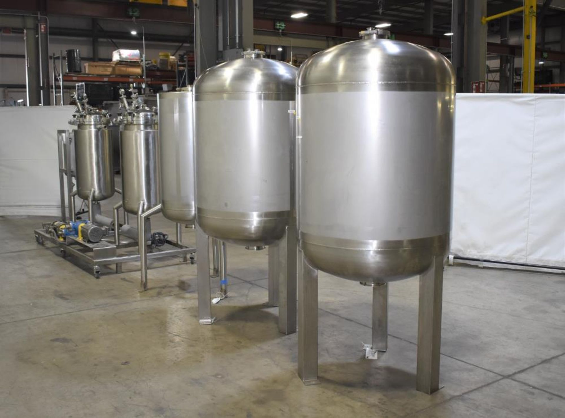 *** NO RESERVE***Used- Pinnacle Stainless Alcohol Extraction Skid. Model AES252. - Image 5 of 29