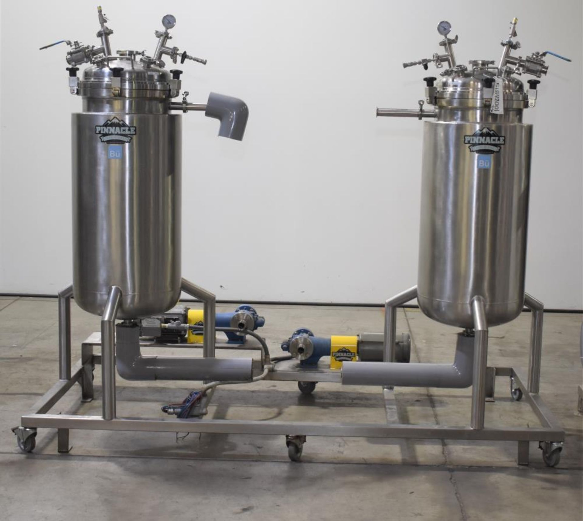 *** NO RESERVE***Used- Pinnacle Stainless Alcohol Extraction Skid. Model AES252. - Image 12 of 29