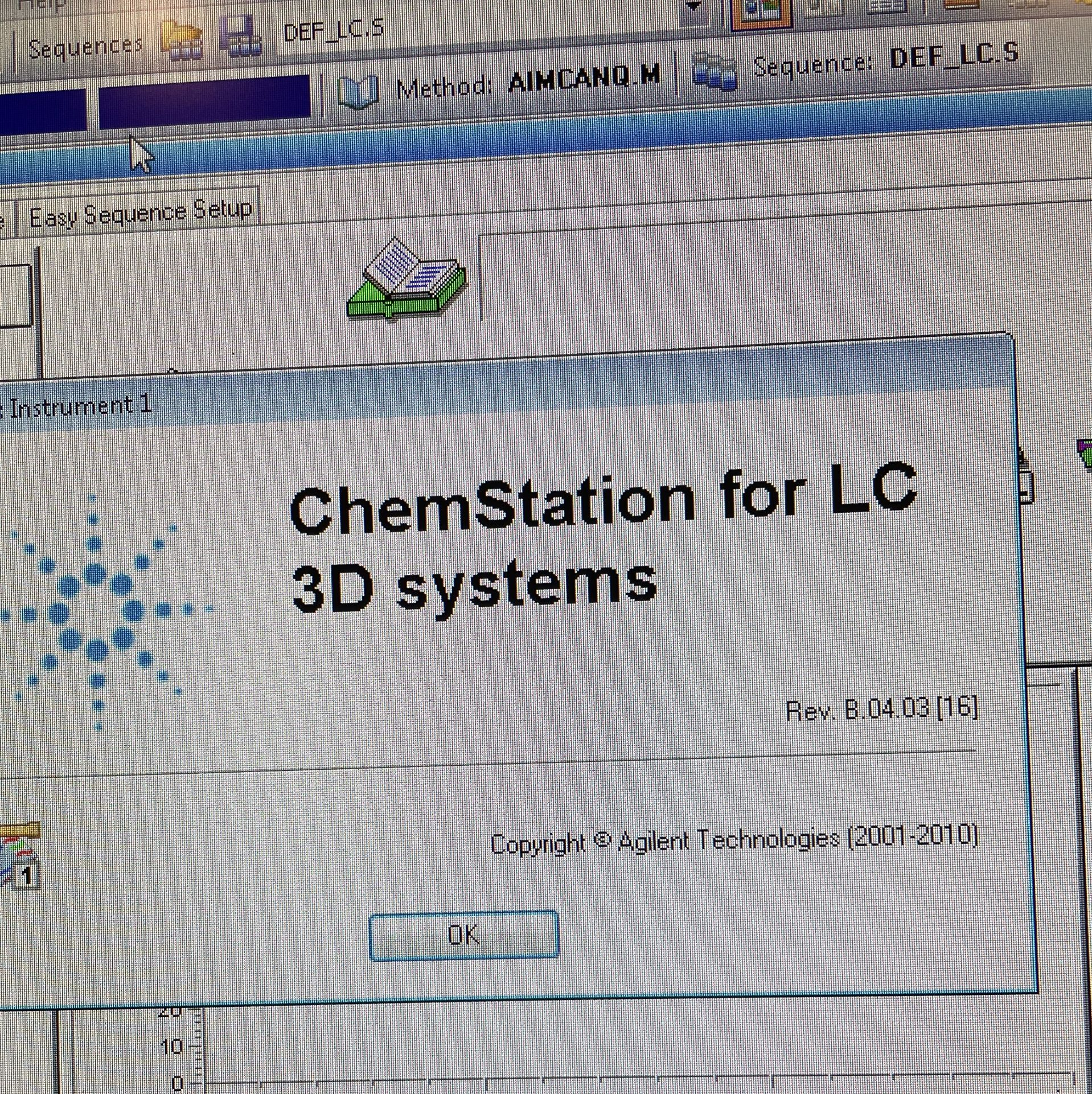 Used Agilent 1100 HPLC. Model 1100. Fully complete & functional cannabinoid potency testing system. - Image 21 of 22