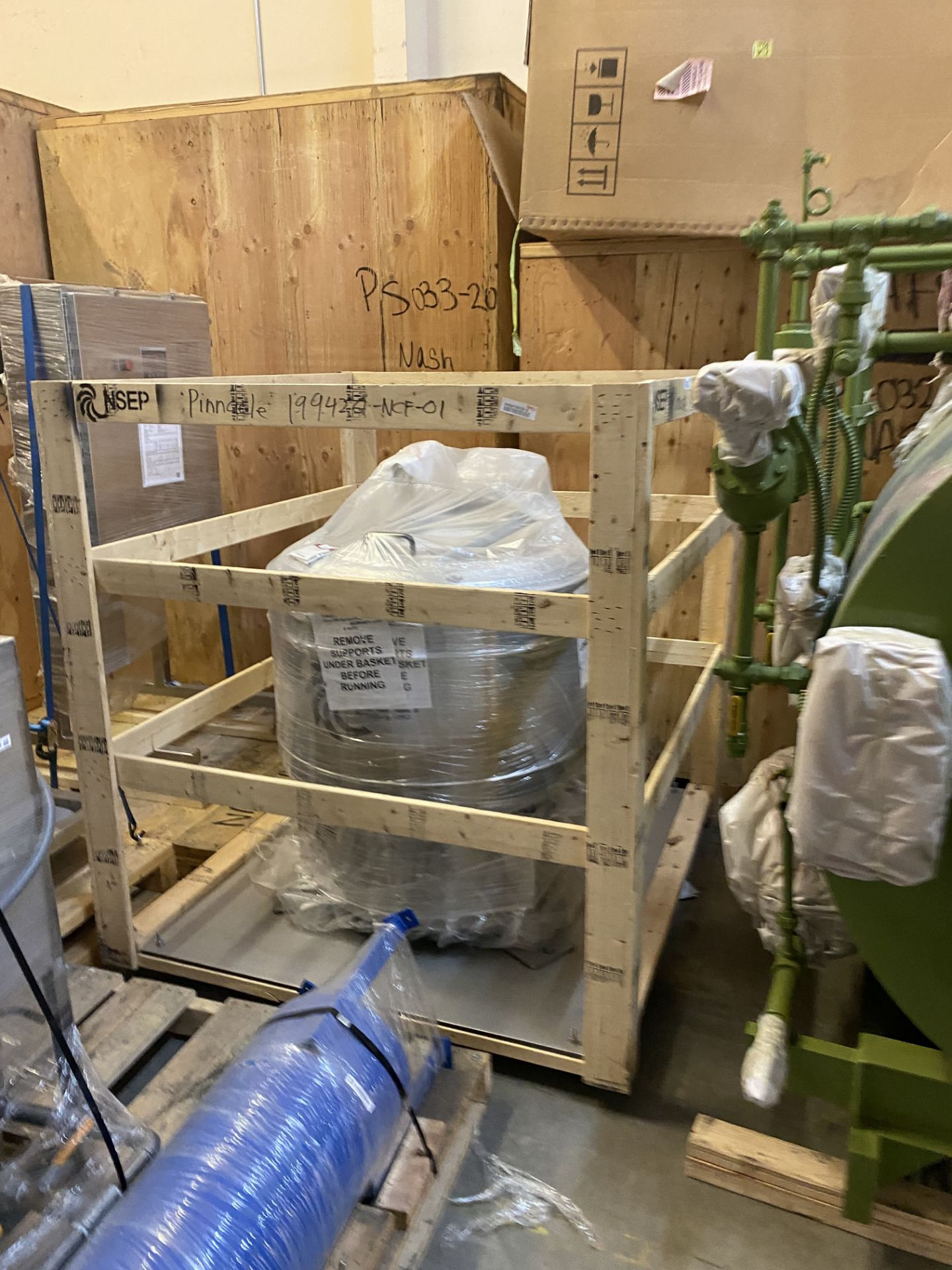 Unused/ Still-In-Crate- North Star Engineering Products Explosion Proof Basket Centrifuge, Model 755 - Image 2 of 4
