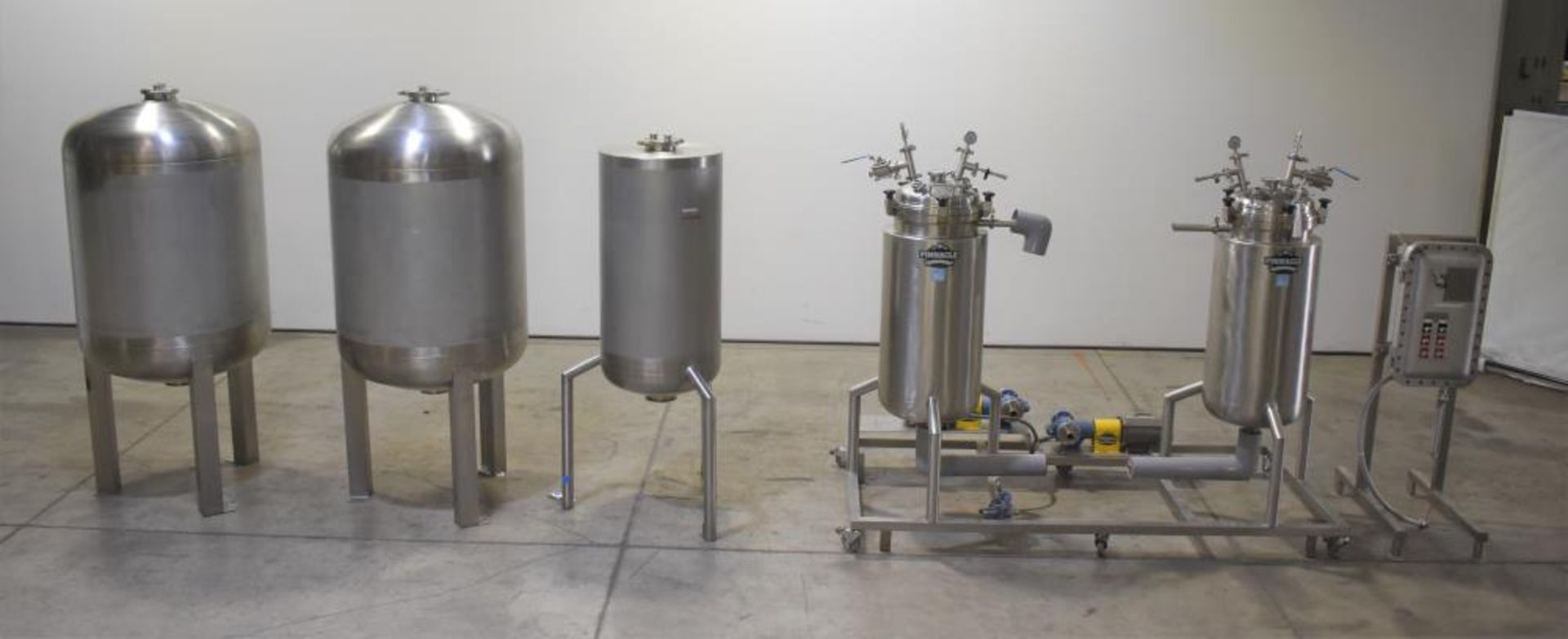 *** NO RESERVE***Used- Pinnacle Stainless Alcohol Extraction Skid. Model AES252.