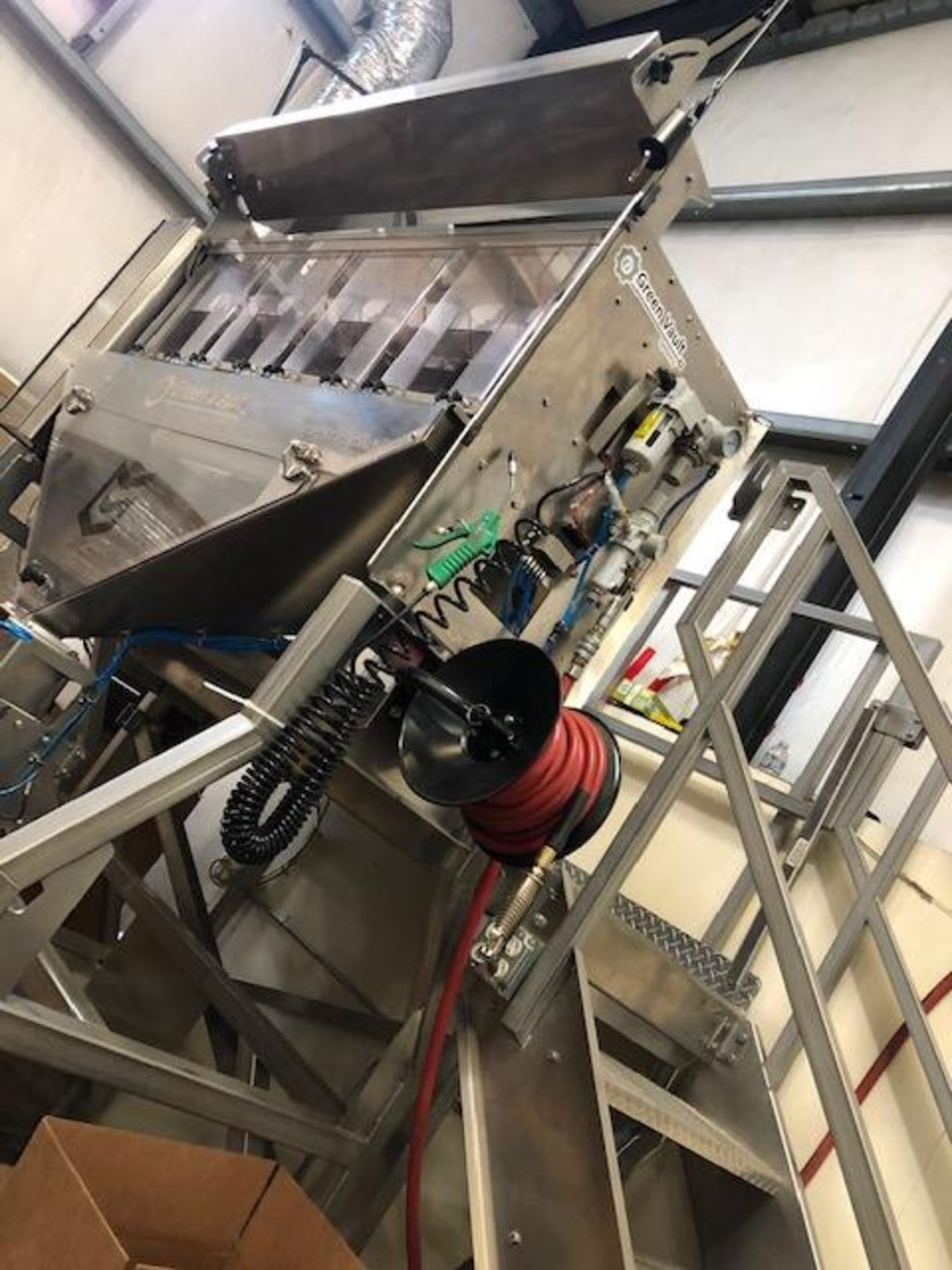 Used-Green Vault Systems Precision Batcher for Batching & Packaging Flower w/ Air Compressor - Image 6 of 23