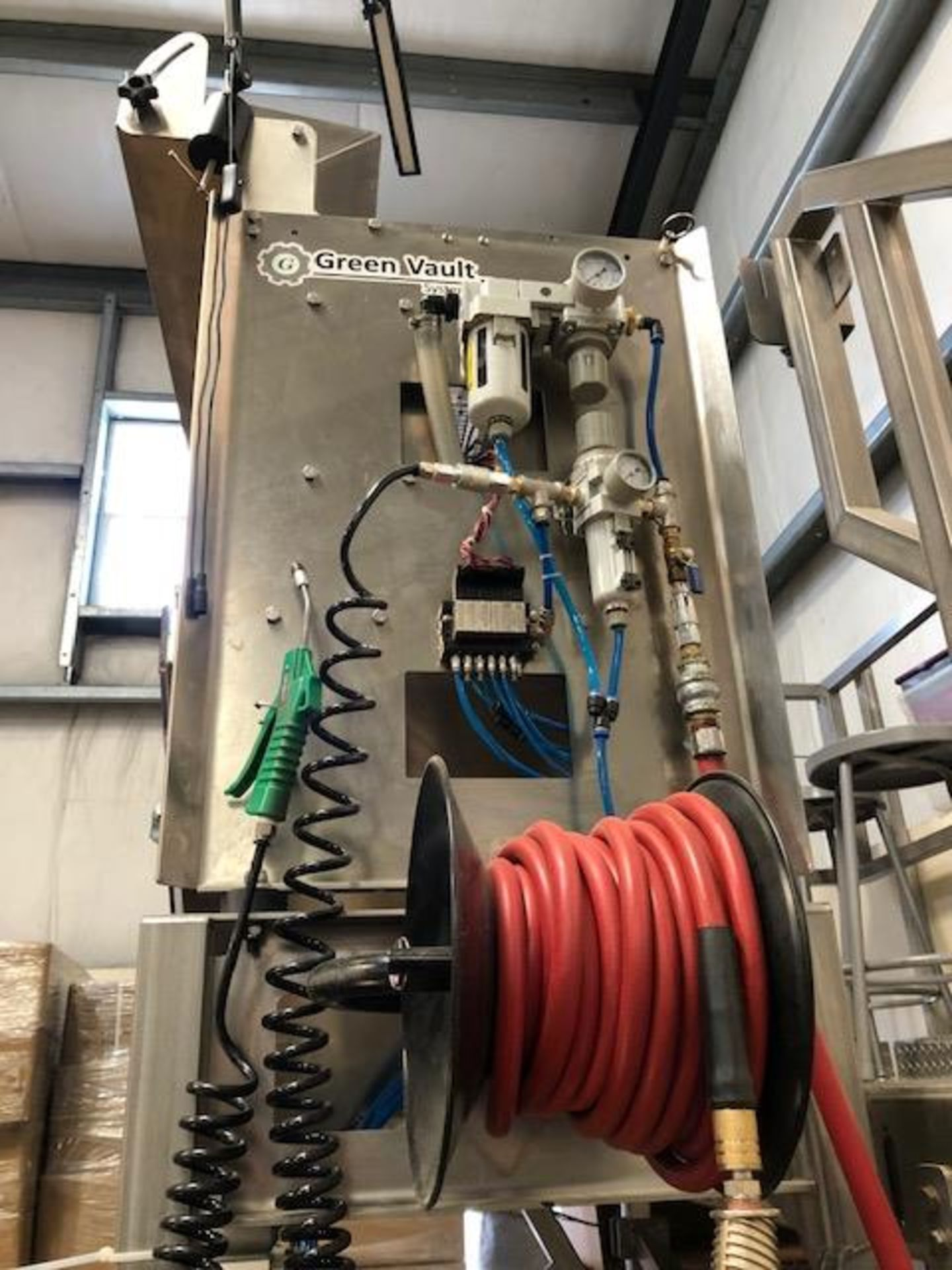 Used-Green Vault Systems Precision Batcher for Batching & Packaging Flower w/ Air Compressor - Image 22 of 23
