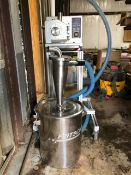 Used- Hanningfield Grinder. Model U10. Throughput up to 400 kgs/hour.
