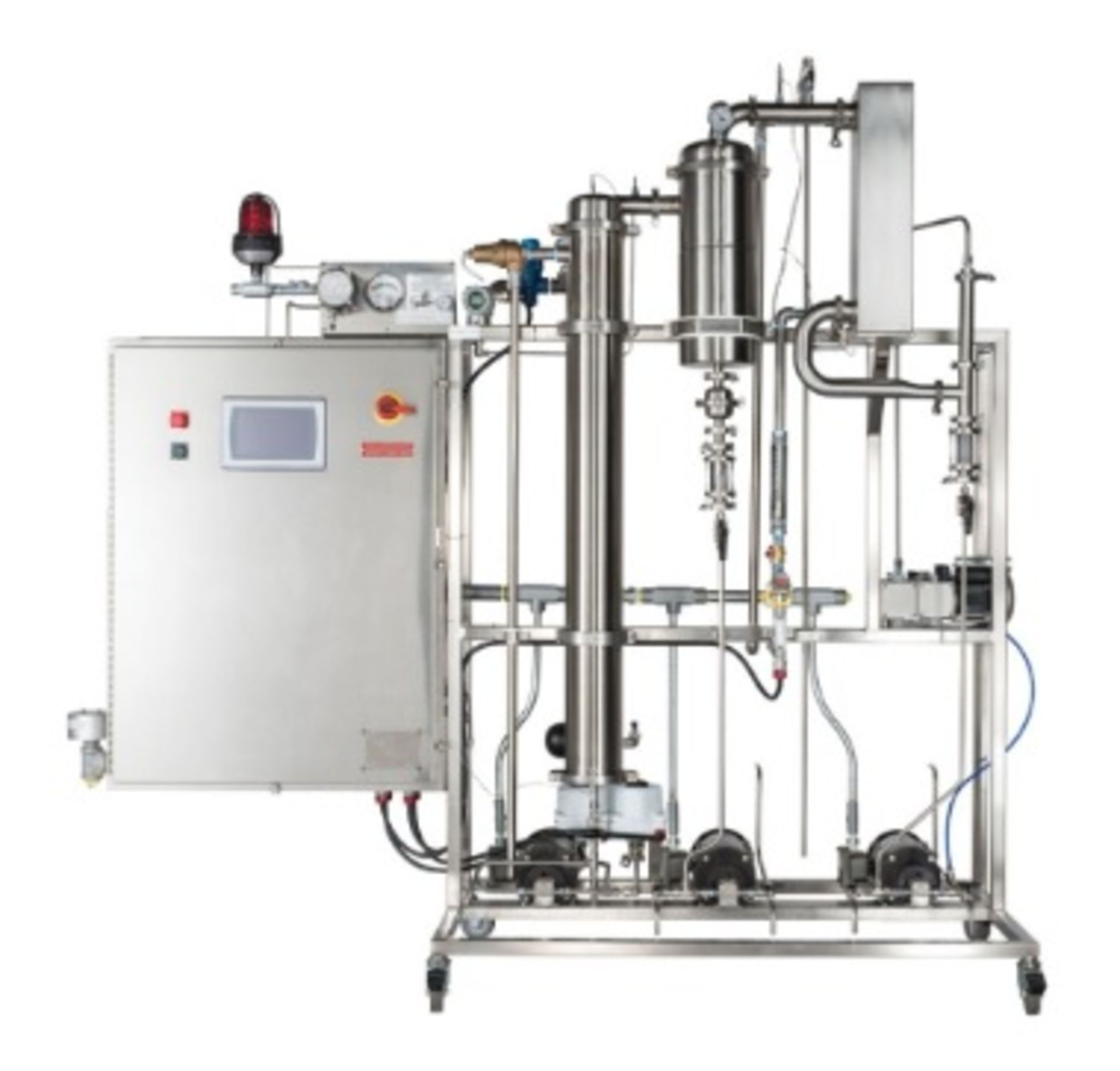 100L SRS Pinnacle Stainless Solvent-Recovery Skid.100L Per Hour Output of Alcohol Recovery - Image 2 of 2