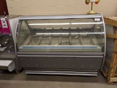 "Approx. 70"" Proxima Model B-G10 Gelato Display Case"
