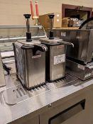 2 Server Hot Dispenser Pumps