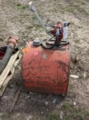 Small Fuel Tank with Pump