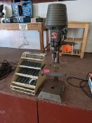 Beaver Drill Press with Drill Bits