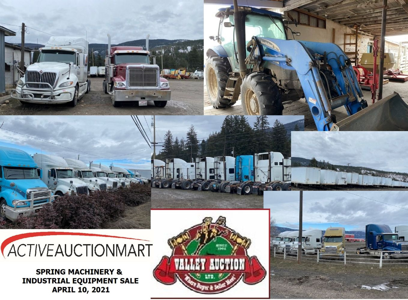 Live - Online Auction - Farm Machinery, Industrial Related, Bailiff Seized Goods Plus Others
