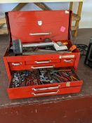 Beach Tool Box with Contents
