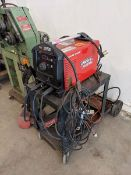 Lincoln Tig 200 Square Wave Welder on Cart