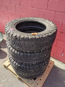 Four LT275/65/R20 BF Goodrich K02 Tires