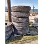 6 Highway Truck Tires - 11R24.5