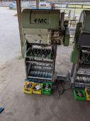 2 FMC Juice Extractors plus Additional Parts. FMC Model # 391B-88 FMC Model # 3911B-65
