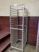 New Age Welded Aluminum Bakers Rack - New Cost $870.00