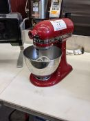 Kitchen Aid Mixer with Paddle