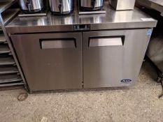 """Atosa 48"""" Under Counter Cooler - Appears Unused"""