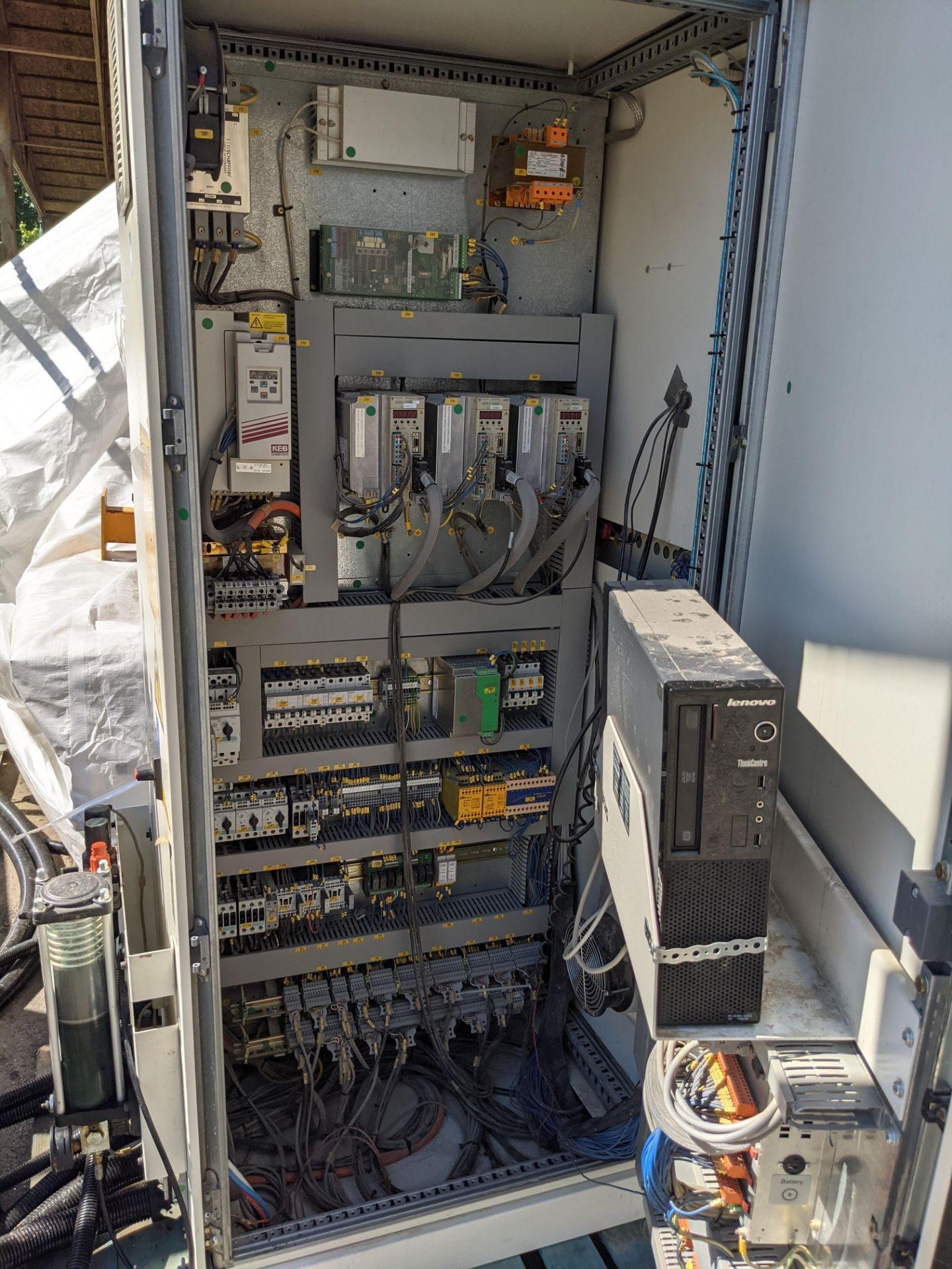 SCM PRATIX 48 NST CNC Nesting Machine with 2 Transformers and 2 Vacuum Pumps - Image 5 of 5