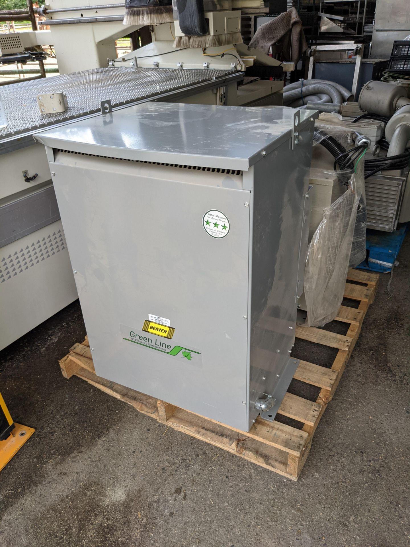 SCM PRATIX 48 NST CNC Nesting Machine with 2 Transformers and 2 Vacuum Pumps - Image 4 of 5
