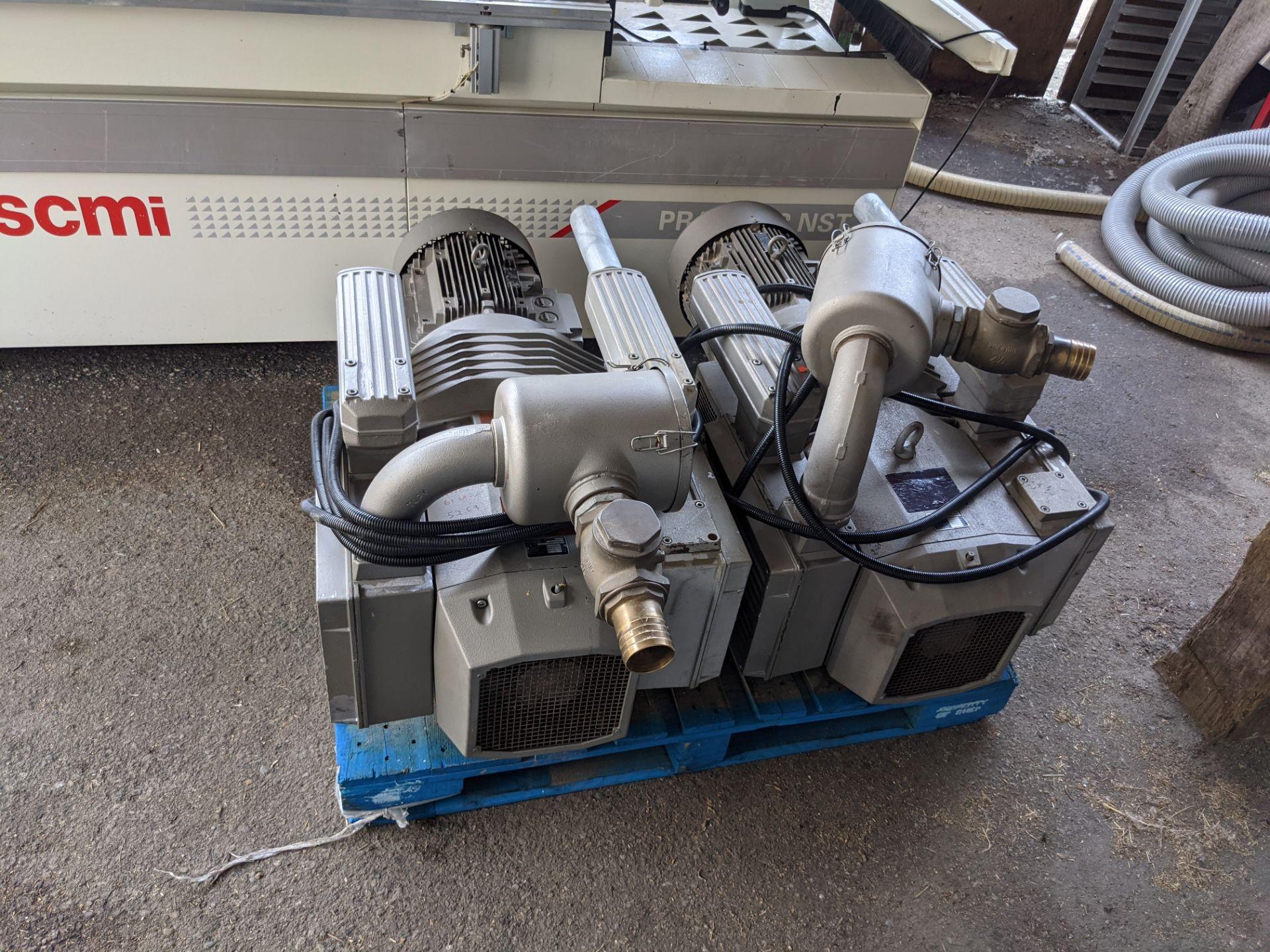 SCM PRATIX 48 NST CNC Nesting Machine with 2 Transformers and 2 Vacuum Pumps - Image 3 of 5