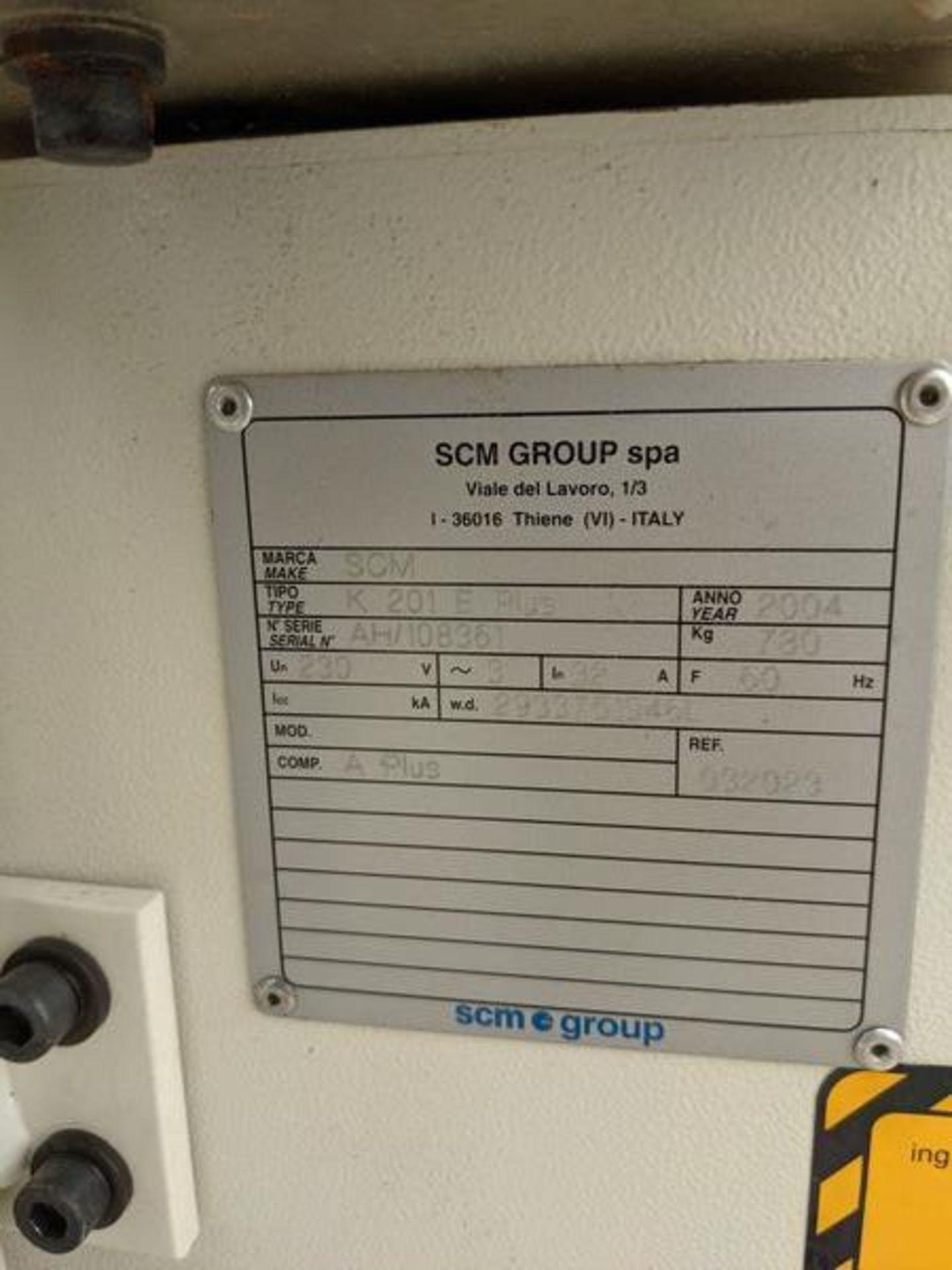 SCM K201 EdgeBander - Image 4 of 5
