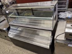 QBD Approx. 5ft Refrigerated Over Under Case