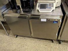 Beverage Air Two Door Undercounter Cooler