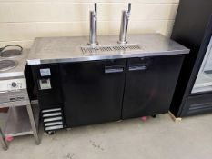"""Ikon 61"""" Keg Cooler with 2 Towers - In Box - Never Used - New Cost $3750.00"""