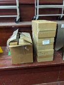 3 Boxes of Unused Napkin Dispensers and New Cambro Lids
