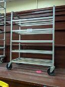 Franesse Aluminum Welded 5 Tier Tray Rack