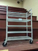 Franesse Aluminum 5 Tier Tray Rack