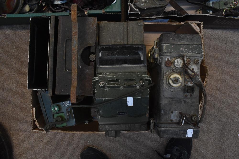 A large quantity of military radios and radio equipment including numerous military issue wireless - Image 2 of 12