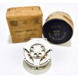 """HARDY; an alloy 3 5/8"""" 'Angel' fly reel numbered A10180, in near mint condition with soft case and"""