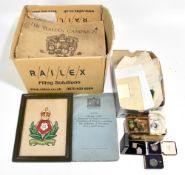 A collection of World War II period and related ephemera including memoirs, official documentation