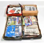 A large collection of football programmes from various teams to include Oldham Athletic,