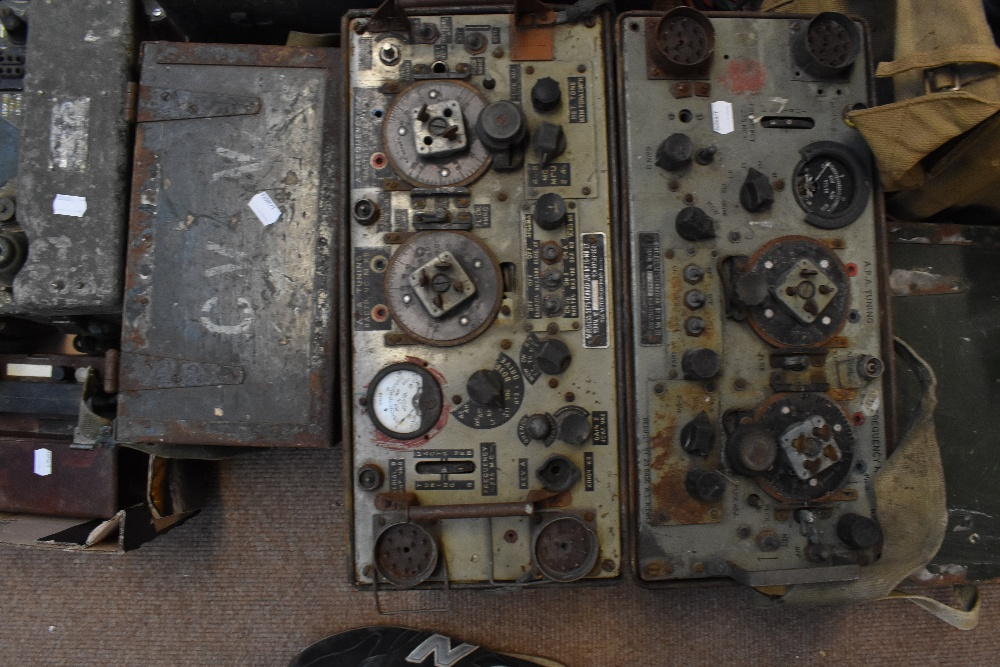 A large quantity of military radios and radio equipment including numerous military issue wireless - Image 11 of 12