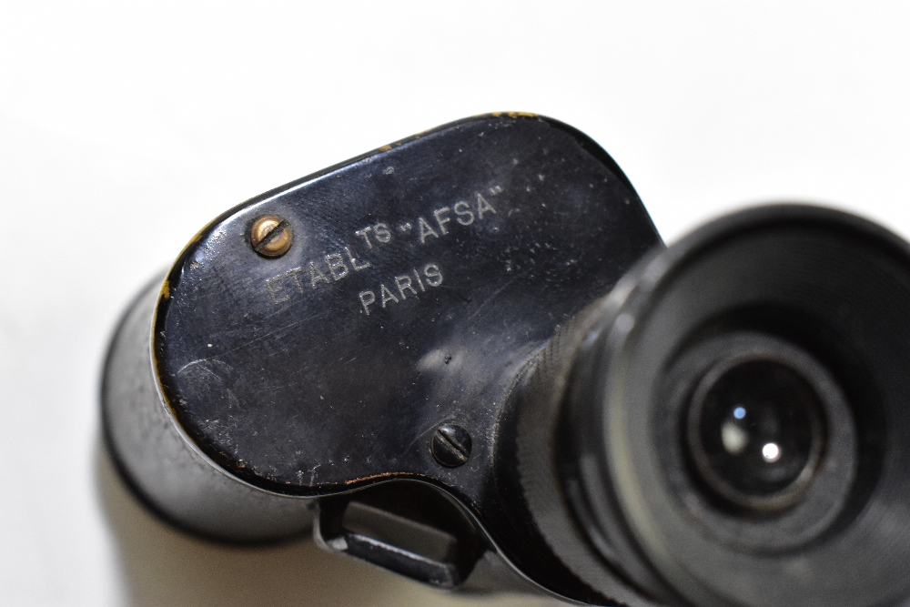 A leather training gun holster, a pair of Sthenara 8x binoculars, a Nikon sterling sight, also a WWI - Image 7 of 7